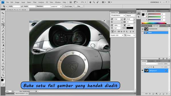edit gambar photoshop
