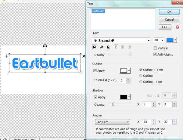 tutorial transparent header blog