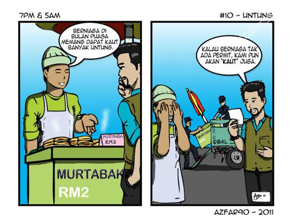 komik ramadhan oleh azfar90
