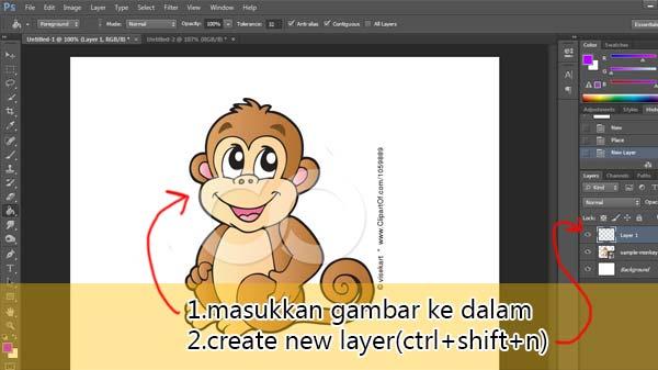 tutorial melukis pen tool