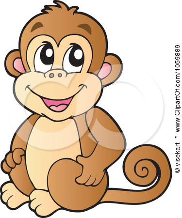 sample monkey vector