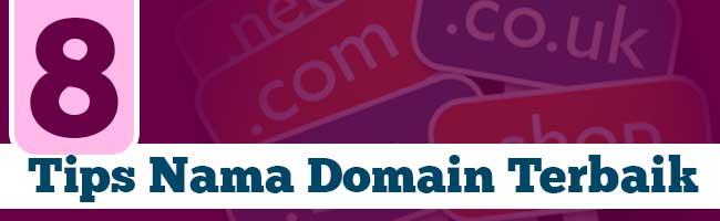 tips nama domain terbaik